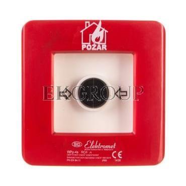 Ręczny ostrzegacz pożarowy 2Z 2R 12A IP65 WPp-4s ROP A 921562-199695