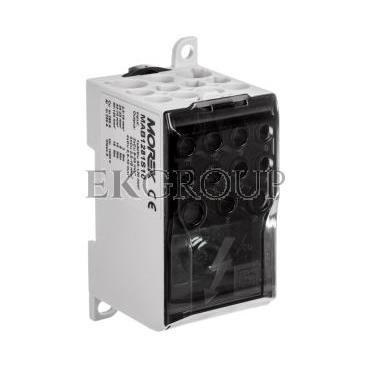 Blok rozdzielczy CU 1-potencjałowy 280A AL/CU 120mm2 TS35 we 1x120 wy 4x10 5x16 2x35mm2 MAB1281S10 89793002-196015