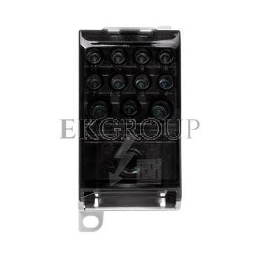 Blok rozdzielczy CU 1-potencjałowy 280A AL/CU 120mm2 TS35 we 1x120 wy 4x10 5x16 2x35mm2 MAB1281S10 89793002-196016