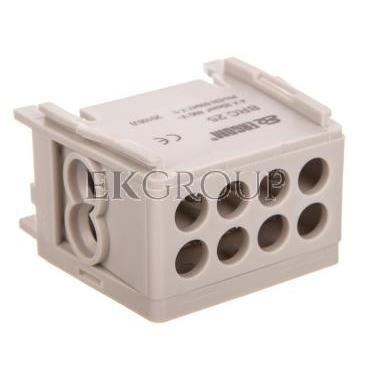 Blok rozdzielczy kompaktowy BRC 25-1/2 szary R33RA-02030000101-196024