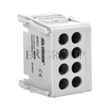 Blok rozdzielczy kompaktowy BRC 25-1/2 szary R33RA-02030000101-196025