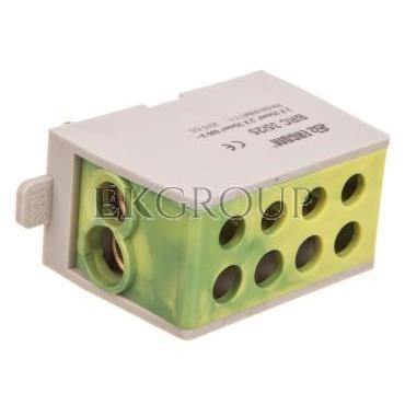Blok rozdzielczy kompaktowy BRC 35/25 żółto-zielony R33RA-02030001301-196037