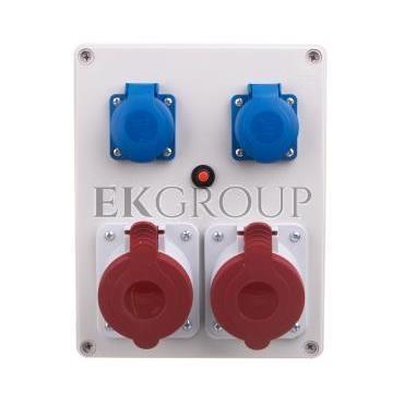 Rozdzielnica R-BOX 240 2x32A/5P 2x250V IP44 B.1099-200017