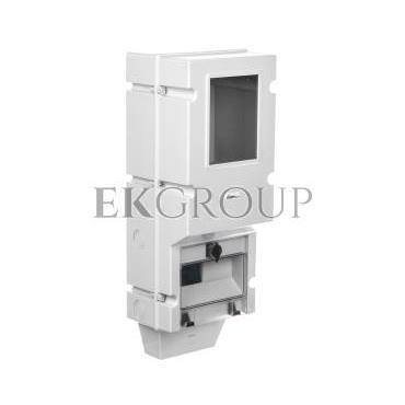 Obudowa licznikowa 540x230x190mm IP65 szara OZP 38.01-196403
