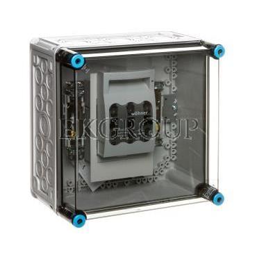 Obudowa rozłącznikiem 1xNH00 (1x3x125A)   zacisk PE N IP65 Mi 85250 HPL00090-196831