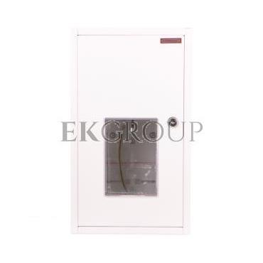 Szafka licznikowa natynkowa/podtynkowa (uniwersalna) 1-licznikowa 1-fazowy 10 modułów IP30 RU-1-P-10 Z/O-199277
