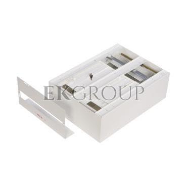 Szafka licznikowa natynkowa/podtynkowa (uniwersalna) 2-licznikowa 3-fazowe 20 modułów IP30 RU-2L-20 Z/O-199316