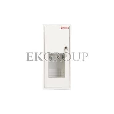 Szafka licznikowa natynkowa/podtynkowa (uniwersalna) 1-licznikowa 1-fazowy 6 modułów IP30 RU-1-P Z/O-199329