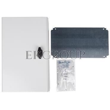 Obudowa S3D 500x300x200mm IP66 z płytą montażową NSYS3D5320P-196453