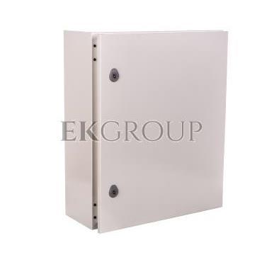 Obudowa metalowa ARGENTA 500x300x200 z płytą IP66 49047-196733