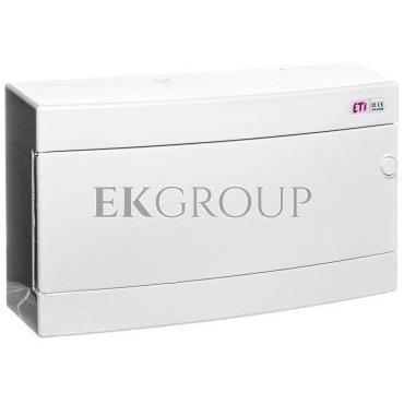 Rozdzielnica modułowa 1x18 natynkowa /biała/ IP40 ECT18PO-s DIDO 001101071-198537