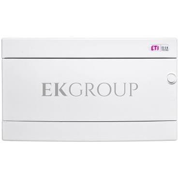 Rozdzielnica modułowa 1x18 natynkowa /biała/ IP40 ECT18PO-s DIDO 001101071-198538