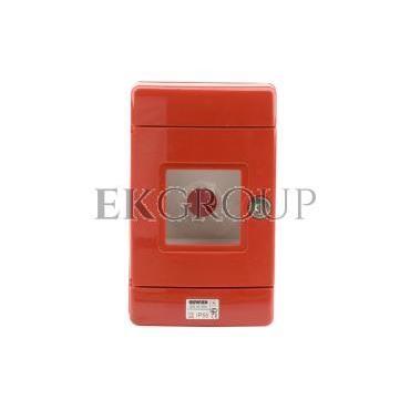 Szafka do wyłącznika p.poż. fi22mm natynkowa czerwona 42 RV GW42204-196386