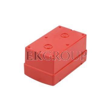 Szafka do wyłącznika p.poż. fi22mm natynkowa czerwona 42 RV GW42204-196387