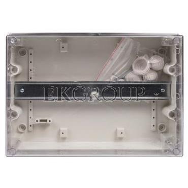 Obudowa 213x303x125mm IP55 OB-4/TH35 CARBO-BOX 0253-10-198998