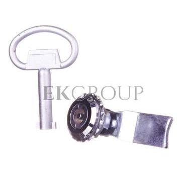 Wkładka zamka piórkowa /płetwa/ z kluczem ZMRN-W R30RS-04010002100-194116