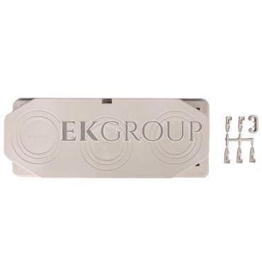 Płyta przepustowa 3xM40/50/63, 80x300mm IP65 do ścianek 300mm Mi FM63 HPL2000133-192740