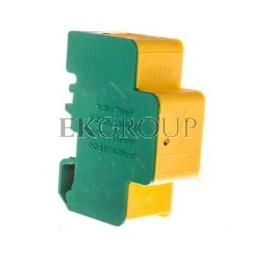 Blok rozdzielczy modułowy 1-biegunowy 160A żółto-zielony LBR160A/13ż-z 84321009-195881