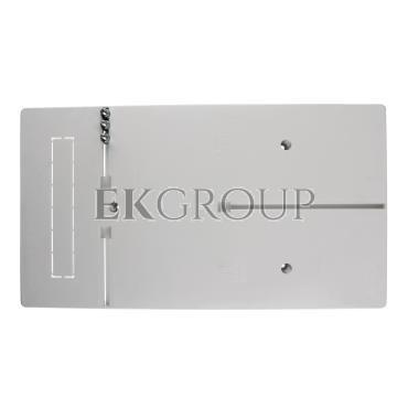 Tablica licznikowa 450x250mm 3F szara T-3F-b/z-100A 10.3-199494