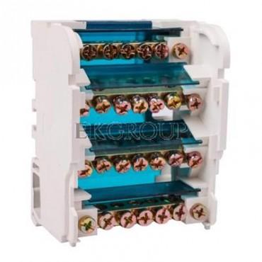Blok listew rozdzielczych 4-biegunowy 100A EBR 4-7/100 R33RA-02020200101-195822