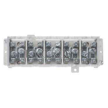 Odgałęźnik instalacyjny 5-torowy (zacisk: 5x35mm2 - 5x4x16mm2) LZ5x35/16 wyk.11P 84034002-197047