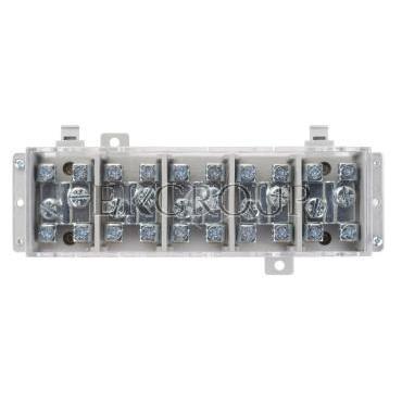 Odgałęźnik instalacyjny 5-torowy (zacisk: 5x35mm2 - 5x4x16mm2) LZ5x35/16 wyk.21P 84035002-197049