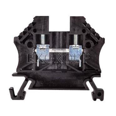 Złączka szynowa 2-przewodowa 2,5mm2 czarna EURO 43408BK-213755