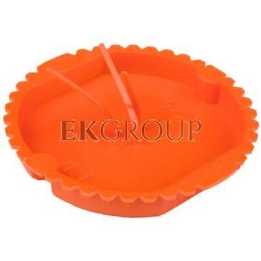 Pokrywa sygnalizacyjna 60mm okrągła ceglasta PK-60 0202-02-211039
