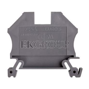 Złączka szynowa gwintowa ZSG ( ZUG ) 6,0mm2 szara mini 43407 -213760