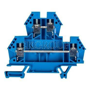 Złączka piętrowa 4mm2 niebieska 43550BL -213637