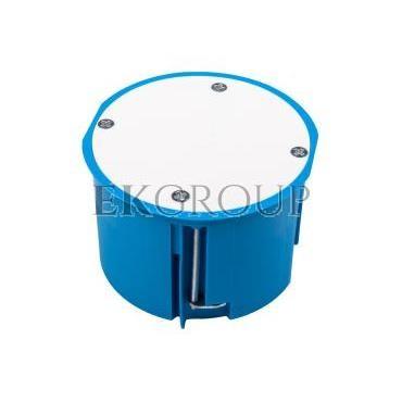 Puszka podtynkowa 70mm regips niebieska z pokrywą PV70 32150203 /12szt./-211105