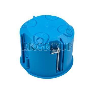 Puszka podtynkowa 70mm regips niebieska z pokrywą PV70 32150203 /12szt./-211106