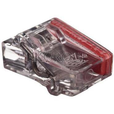 Szybkozłączka 2x1,5-2,5mm2 transparentna PC2252-CL 89021000 /100szt./-212546
