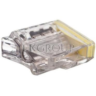 Szybkozłączka 4x1,5-2,5mm2 transparentna PC2254-CL 89023000 /100szt./-212550