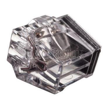 Szybkozłączka 8x1-2,5mm2 transparentna PC258-CL 89005000 /50szt./-212553