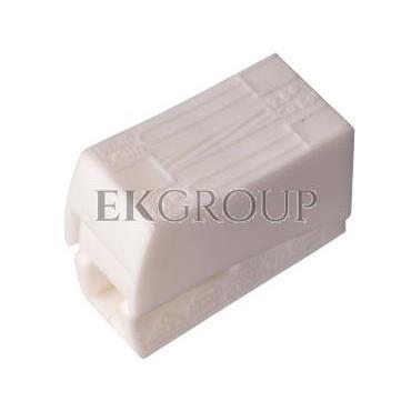 Szybkozłączka 2x0,5-2,5mm2 biały PC302-CL 89007006 /100szt./-212544