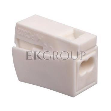 Szybkozłączka 2x0,5-2,5mm2 biały PC302-CL 89007006 /100szt./-212545