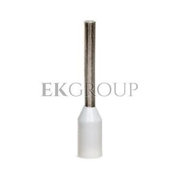 Końcówka tulejkowa izolowana HI 0,5/10 DIN E08KH-02010111801 /100szt/-210324