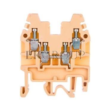 Złączka szynowa 2-torowa 2,5mm2 beżowa CBR.2 I-CR1100000000000-213746
