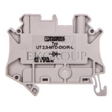 Złączka diodowa 2-przewodowa 0,14-4mm2 szara UT 2,5-MTD-DIO/R-L 3064140-214859