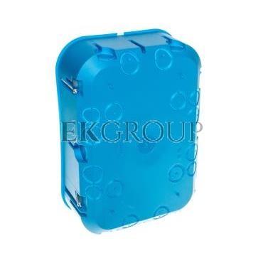 Puszka osprzętowa sześciopolowa P6x60D niebieska 32174203-211136