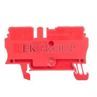 Złączka szynowa przelotowa 2-przewodowa 2,5mm2 czerwona ATEX ZDU 2.5 RT 1683260000-214673