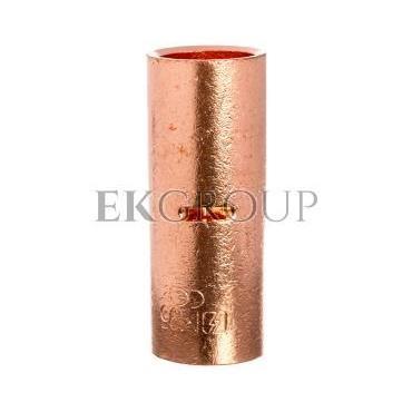 Końcówka /tulejka/ łącząca miedziana niecynowana 95mm2 LN95-208601