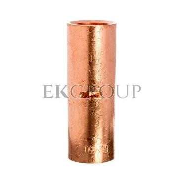 Końcówka /tulejka/ łącząca miedziana niecynowana 150mm2 LN150-208599