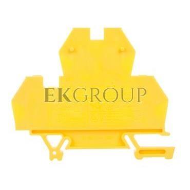 Złączka piętrowa 4-przewodowa 4mm2 żółta EURO 43550N-213744