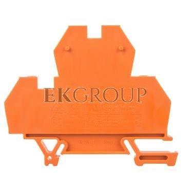 Złączka piętrowa 4-przewodowa 4mm2 pomarańczowa EURO 43550OR-213745