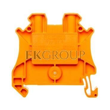 Listwa zaciskowa przepustowa 2-przewodowa 0,14-6mm2 pomarańczowa UT 4 OG 3045101-214429