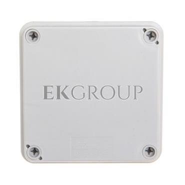 Puszka hermetyczna natynkowa 108x108x56mm IP65 szara PH-1A.1 28.11-211456