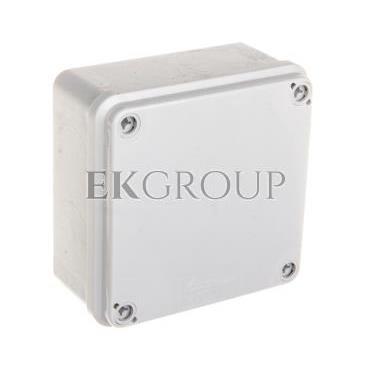 Puszka hermetyczna natynkowa 108x108x56mm IP65 szara PH-1A.1 28.11-211457