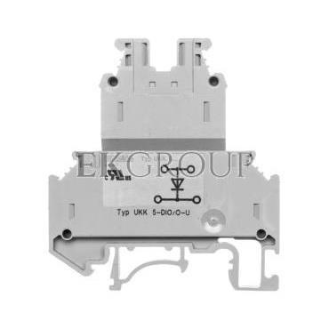 Złączka diodowa 4-przewodowa 0,2-4mm2 szara UKK-5-DIO/O-U 2791016-214856